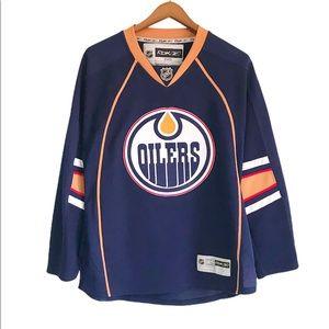 NHL Edmonton Oilers Reebok blank jersey size S